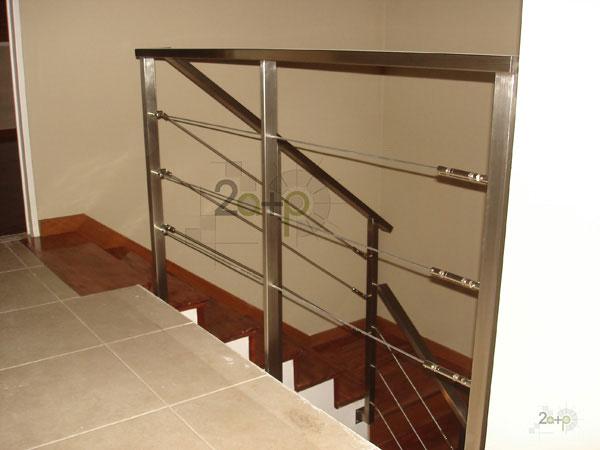 Inox - Baranda de escalera ...